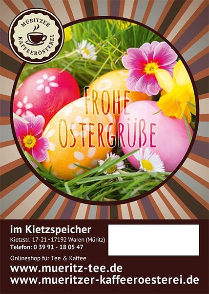 Kaffeegeschenk: Frohe Ostergrüße