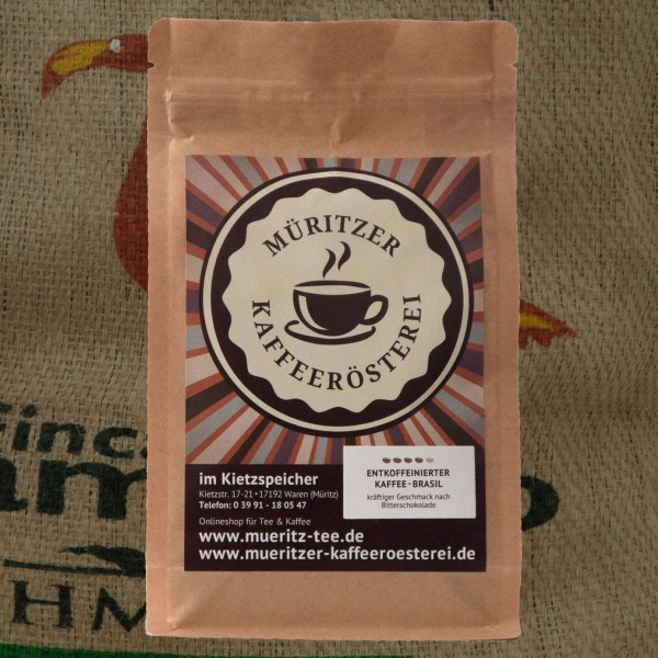 entkoffeinierter Kaffee Brasil
